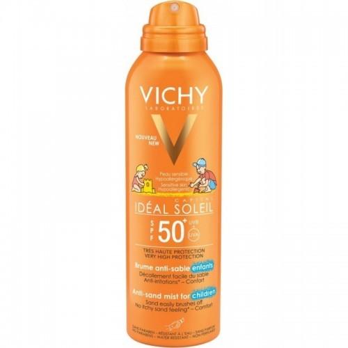 VICHY IDEAL SOLEIL Anti Sand Enfants SPF50 Παιδικό Αντηλιακό Γαλάκτωμα κατά της Άμμου 200ml