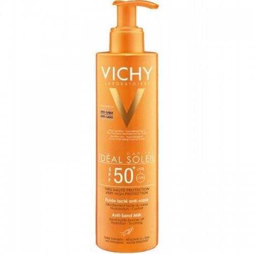 VICHY IDEAL SOLEIL Anti Sand SPF50 Αντηλιακό Γαλάκτωμα κατά της Άμμου 200ml