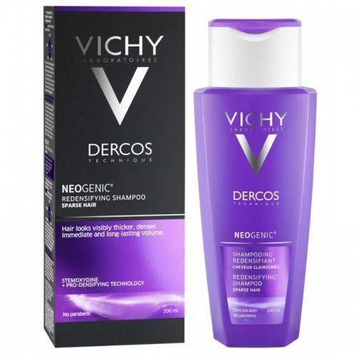 VICHY DERCOS Neogenic Redensifying Shampoo Σαμπουάν Αύξησης της Πυκνότητας 200ml
