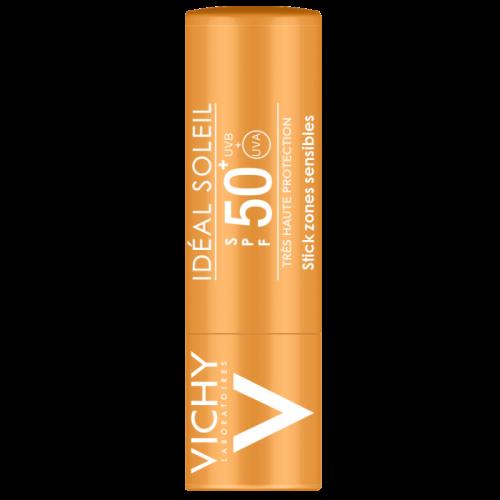VICHY IDEAL SOLEIL Stick για Ευαίσθητες Ζώνες SPF50+ 9g