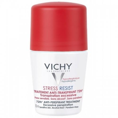 VICHY Roll-on Deodorant Stress Resist Εντατική Αποσμητική Φροντίδα 72h 50ml