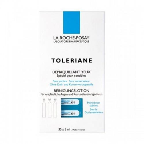 LA ROCHE POSAY Toleriane Ultra Demaquillant Yeux (Μονοδόσεις) 30x5 ml