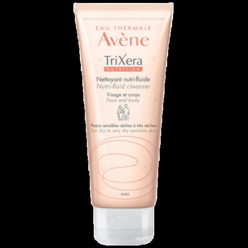 AVENE Trixera Nutrition Nettoyant Nutri-Fluide Λεπτόρρευστο θρεπτικό καθαριστικό 100ml
