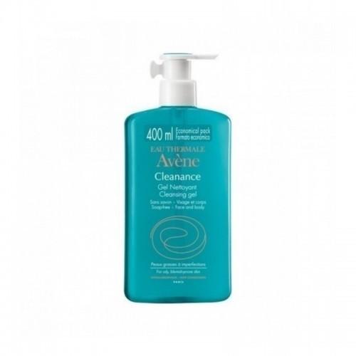 AVENE Cleanance Gel Nettoyant με Αντλία 400ml