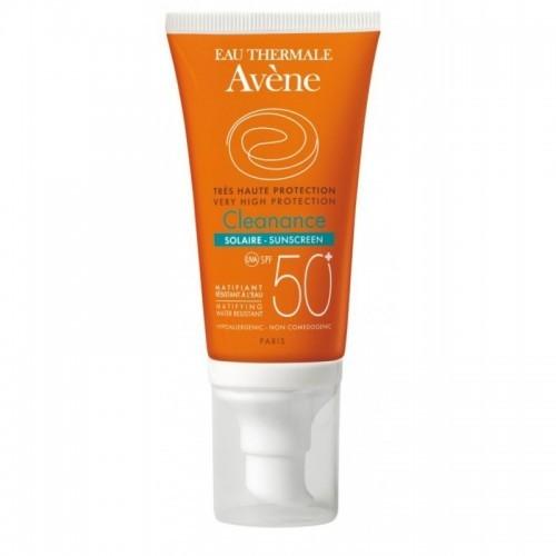 AVENE Αντηλιακή Κρέμα Προσώπου για Δέρματα με Τάση Ακμής - Cleanance Solaire SPF50 50ml