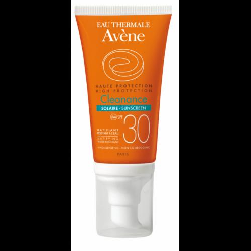AVENE Αντηλιακή Κρέμα Προσώπου για Δέρματα με Τάση Ακμής - Cleanance Solaire SPF30 50ml