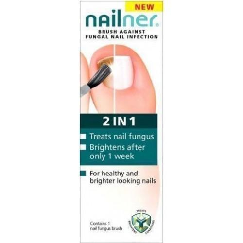 Nailner Brush 2in1