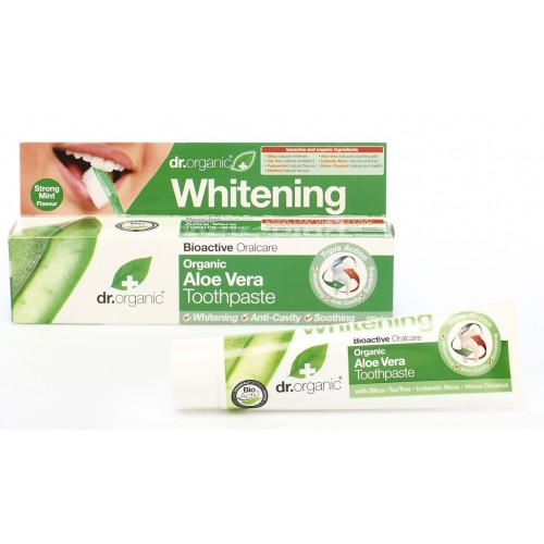 Organic Aloe Vera Toothpaste