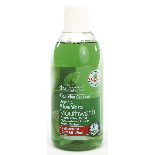 Organic Aloe Vera Mouthwash