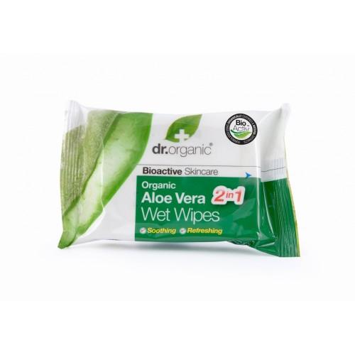 Organic Aloe Vera Wet Wipes