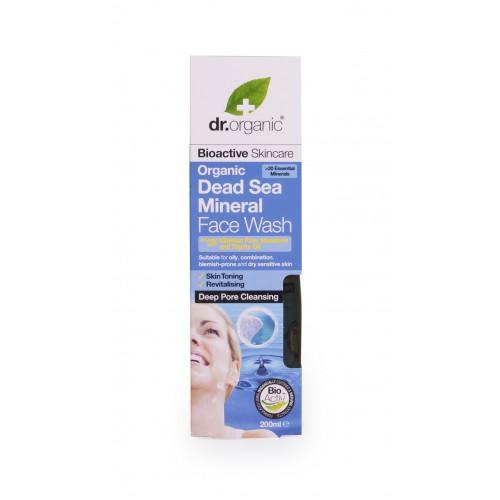 Organic Dead Sea Mineral Face Wash
