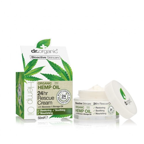 Organic Hemp Oil 24H Resque Cream