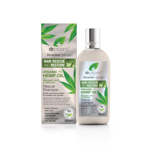 Organic Hemp Oil Resque Shampoo