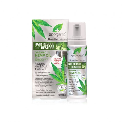 Organic Hemp Oil Restoring Hair & Scalp Treatment