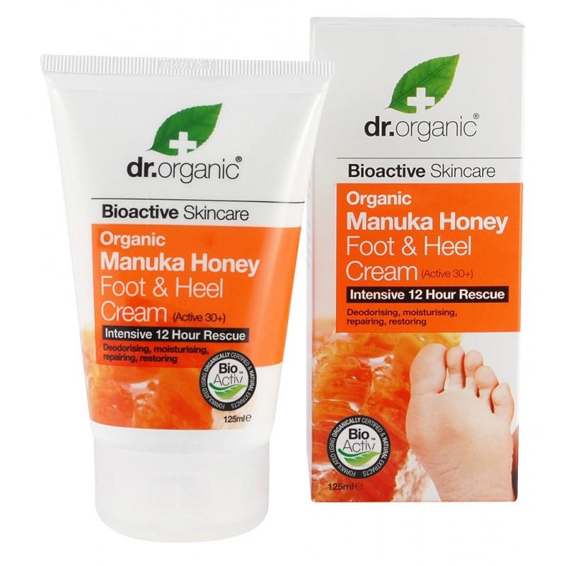 Organic Manuka Honey Foot & Heel Cream