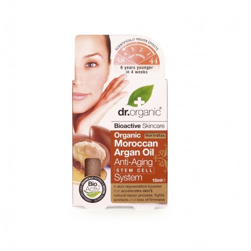 Organic Moroccan Argan Oil Anti-aging Stem Cell System