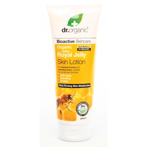 Organic Royal Jelly Skin Lotion