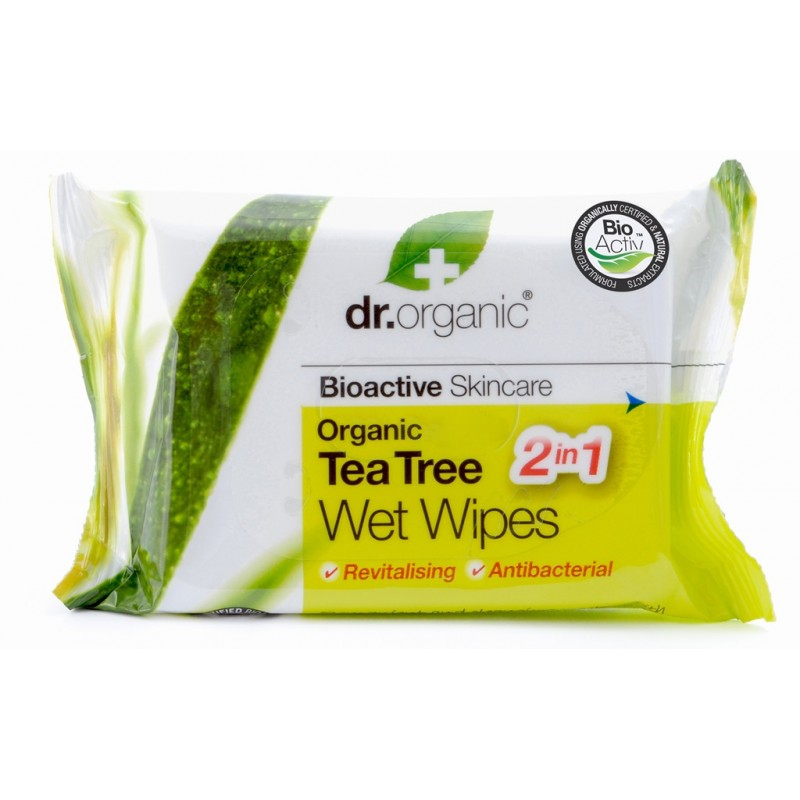 Organic Tea Tree Wet Wipes