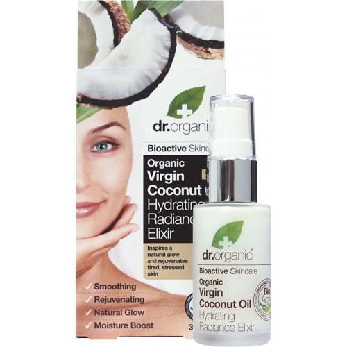 Organic Virgin Coconut Oil Hydrating Radiance Elixir