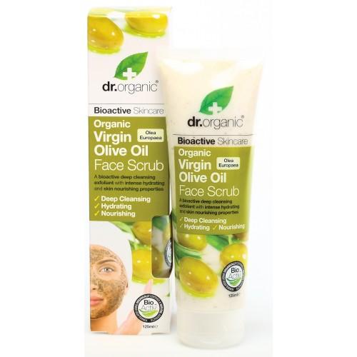 Organic Virgin Olive Oil Face Scrub