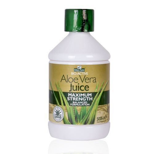 Aloe Vera Juice Max Strength 500ml • Φυσική γεύση