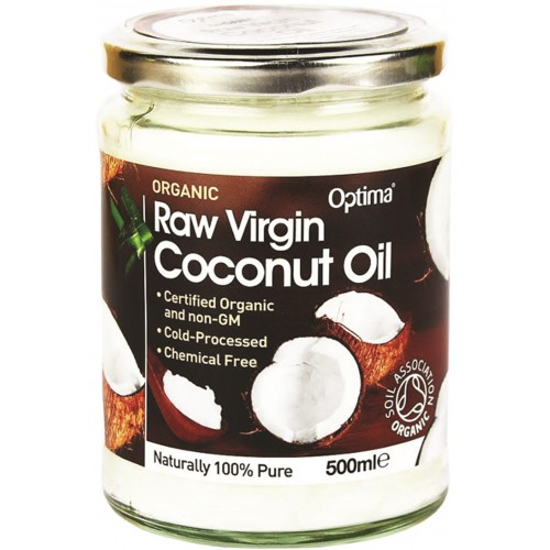 Organic Raw Virgin Coconut Oil 500ml