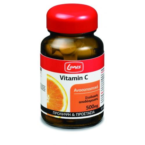 Lanes Βιταμίνη C 500mg