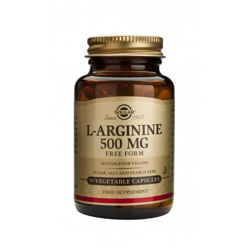 L-ARGININE 500mg veg.caps