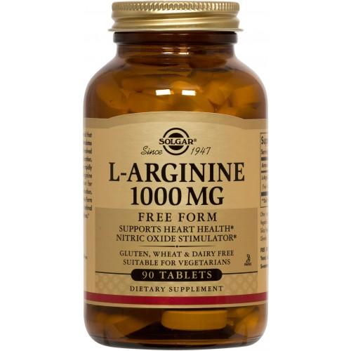 L-ARGININE 1000mg tablets