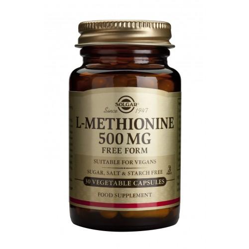 L-METHIONINE 500mg veg.caps 30s