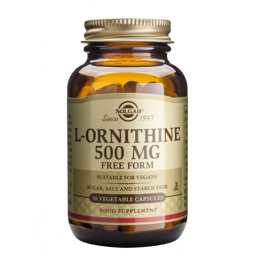 L-ORNITHINE 500mg veg.caps 50s