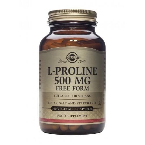 L-PROLINE 500mg veg.caps 100s