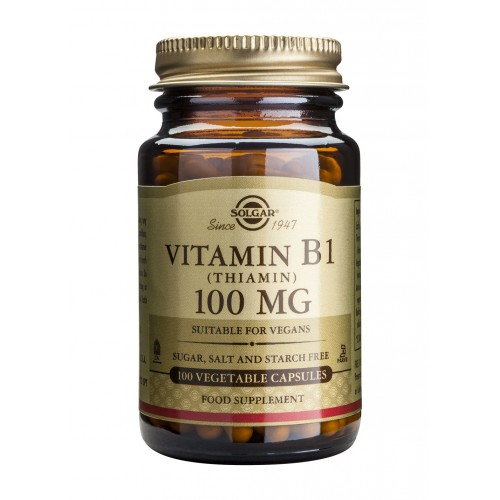 VITAMIN B1 100mg veg.caps 100s