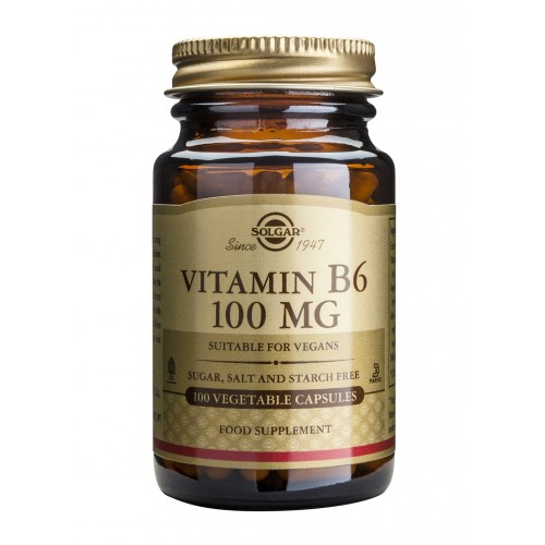 VITAMIN B6 100mg veg.caps 100s