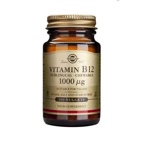VITAMIN B12 1000ug nuggets 100s