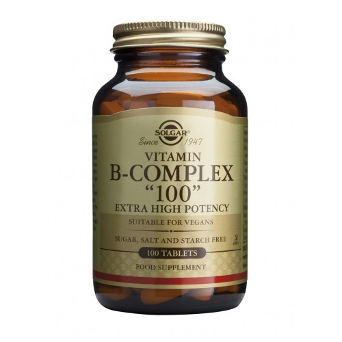 FORMULA B-COMPLEX '100' veg.caps 100s