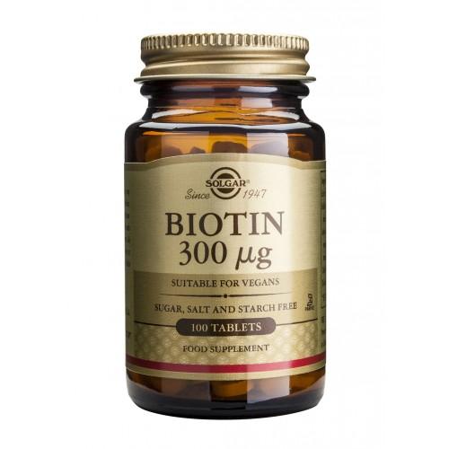 BIOTIN 300μg tablets 100s