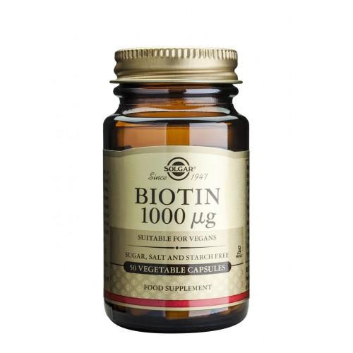 BIOTIN 1000μg veg.caps 50s