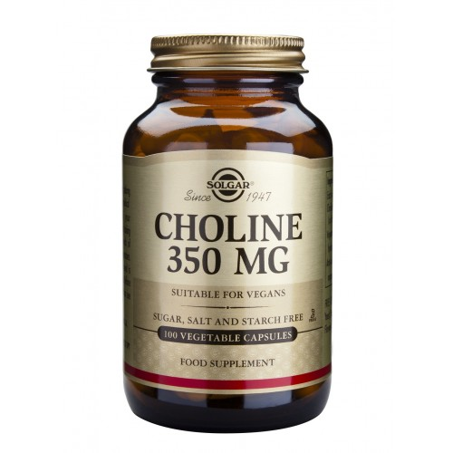 CHOLINE 350mg veg.caps 100s