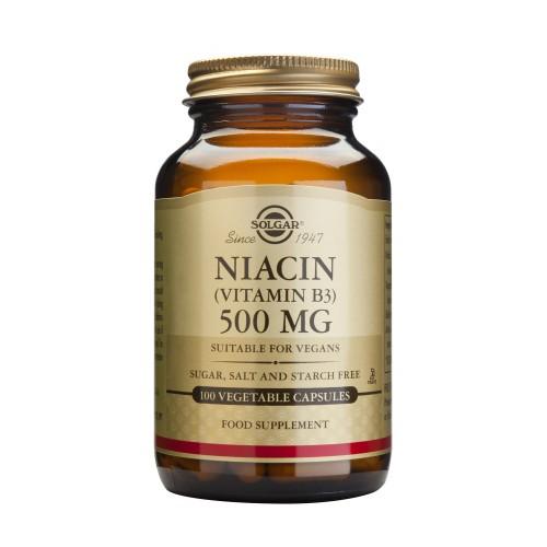 NIACIN (B3) 500mg veg.caps 100s
