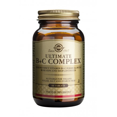 ULTIMATE B+C COMPLEX tablets 60s