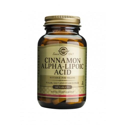 CINNAMON-ALPHA LIPOIC ACID tablets 60s