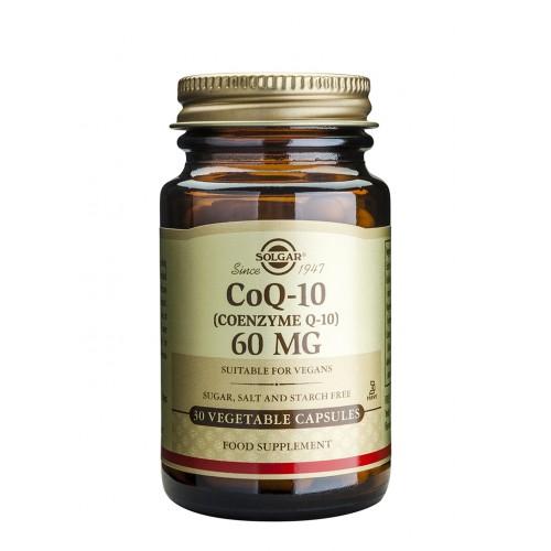 CοQ10 60mg veg.caps 30s