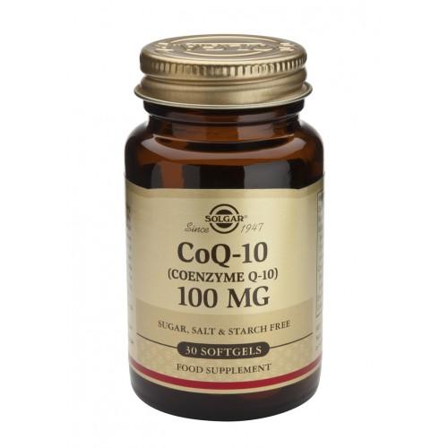 CοQ10 100mg softgels 30s