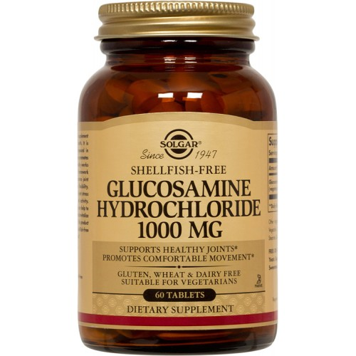 GLUCOSAMINE HCL 1000mg tablets 60s
