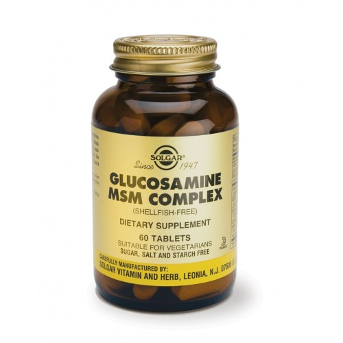 GLUCOSAMINE MSM COMPLEX tablets 60s