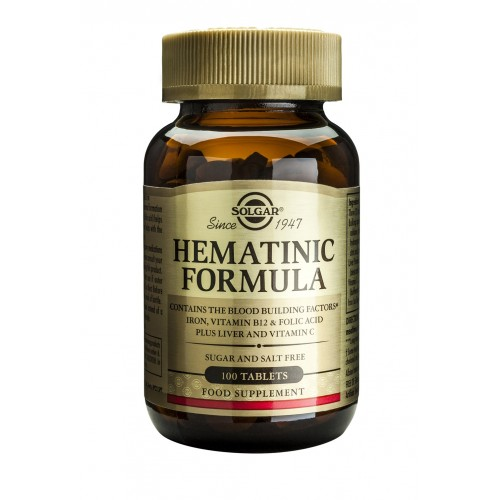 HEMATINIC FORMULA tablets 100s