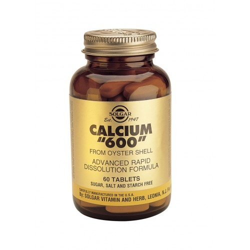 CALCIUM 600mg WITH VITAMIN D3 tablets 60s