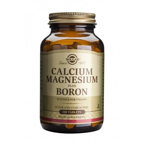 CALCIUM MAGNESIUM PLUS BORON tablets 100s