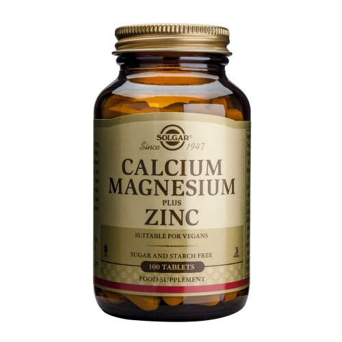 CALCIUM MAGNESIUM PLUS ZINC tablets 100s